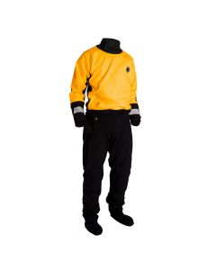 Mustang Survival Water Rescue Dry Suit - XL - Yellow/Black