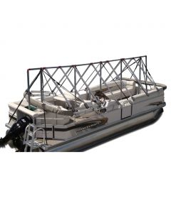 Navigloo Boat Shelter for 23 ft. - 24 ft. Pontoon Boats (Does Not Cover Motor)