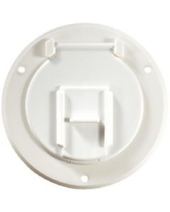 RV Designer Cable Hatch-Round Pw 4.3 X2.3 - Basic Cable Hatch, Round