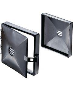 RV Designer Plastic Bumper Cap (Pair) - Bumper Cap W/ Hinged Door