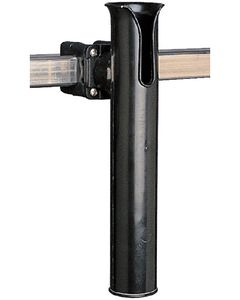 Seadog Rail Mount Rod Holder, Square, Black
