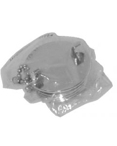 Seadog Chrome Plated Deck Fuel Fill Replacement Cap Only Line