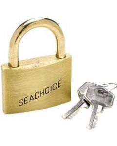 Seachoice Padlock, Solid Brass, 2 (5.08cm)