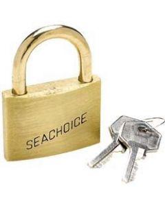 Seachoice Padlock Keyed Alike, Solid Brass, 1 1/4 (3.1cm)