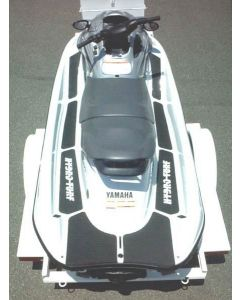 Hydro-Turf Yamaha XL1200 LTD 1999-2004, XL800, XLT1200, XLT800 PWC 2-Tone Cut Groove Mat Kit