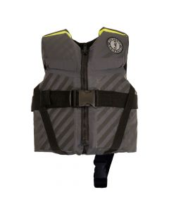 Mustang Survival Mustang Lil' Legends 70 Child Vest - 30-50lbs - Fluorescent Yellow-Green/Gray