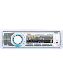 Boss Audio Marine MP3/CD/AM/FM/RDS Receiver,  White - Boss