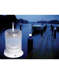 Dock Edge Solar Piling Cap Light