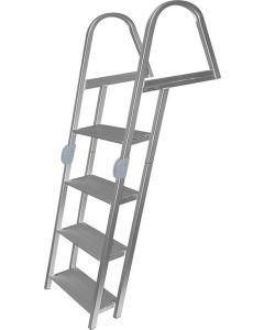 "JIF Marine, LLC 4-Step Folding Dock Ladder, 61.75"" - JIF Marine Products"