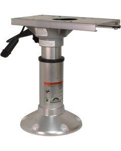 "Springfield Adjustable Pedestal, 10"" - 12"", Locking"