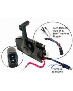 Mercury Side Mount Remote Control,  8 Pin Traditional w/ 20' Harness - Quicksilver