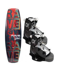 Rave Sports Lyric Wakeboard w/Advantage Boots