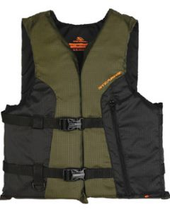 Stearns Sportsman's Vest, Green/Black Adult Universal