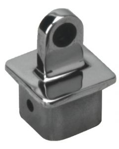 "Seadog Internal Square Eye End, 1-1/4""(1""x1"" inside)Stainless, Each"