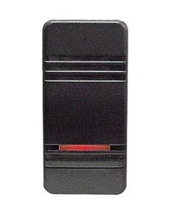 Sierra RK19700 Contura III Illuminated Weather Resistant Rocker Switch, On/Off, Black