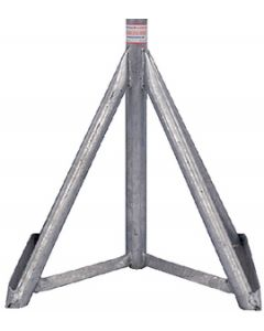 "Brownell Boat Stands Galvanized Motorboat Stand Base Only 18""-25"""