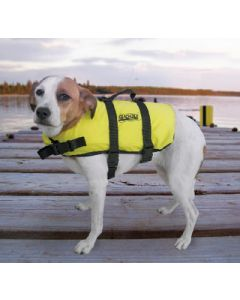 Seachoice Dog Life Vest, Yellow, L 50 to 90 Lbs.