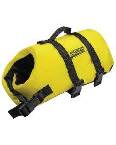 Seachoice Dog Life Vest, Yellow, XXS up to 6 Lbs.