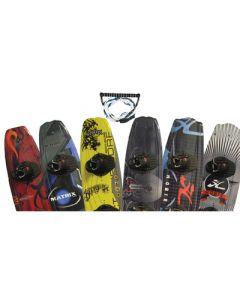 Hydroslide Wakeboard Package W/Rope, Assorted Colors