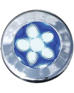 "T-H Marine Supply 3"" Recessed Led Puck Lights, Blue"