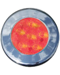 "T-H Marine Supply 3"" Recessed Led Puck Lights, Red"