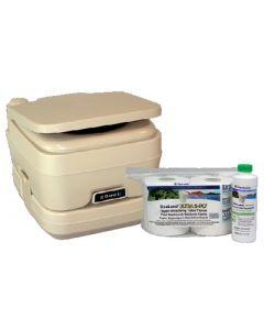 Dometic Sanipottie 962 2.8 Gal. Bonus Pack-Parchment