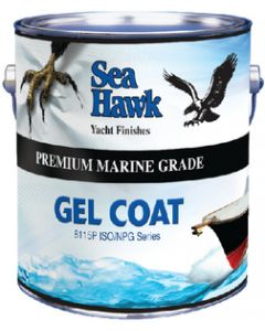 Sea hawk Premium Quality Gel Coat, Snow White Qt. - Sea Hawk