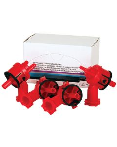 3M Atomizing Head 2.0mm Red Opaque