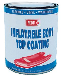 MDR Inflat.Boattop Coating Gray Qt