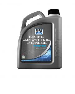 Bel-Ray 4T Semi-Synthetic Engine Oil 10W-40, 4 Liter/1.06 Gal.