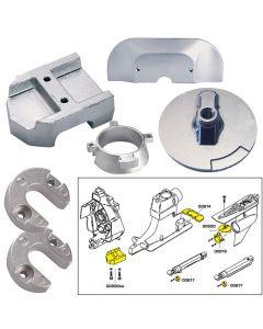 Tecnoseal Anode Kit w/Hardware - Mercury Alpha 1 Gen 2 - Aluminum