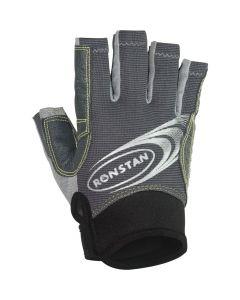 Ronstan Sticky Race Gloves w/Cut Fingers - Grey Small
