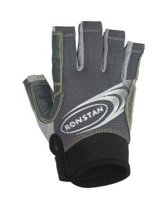 Ronstan Sticky Races Glove w/Cut Fingers - Grey - Medium