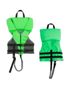 Stearns Child Heads-Up Nylon Vest Life Jacket - 30-50lbs - Green