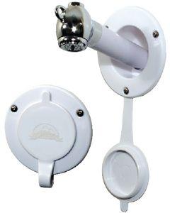 Scandvik Recessed Shower Handle, 45 Degree