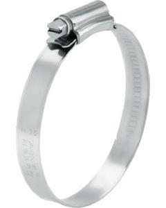 Scandvik Aba 316 Stainless Steel Clamp, #10, 10 Pack