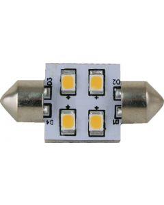 Scandvik LIGHT FESTOON 31 MM 4 LED WW