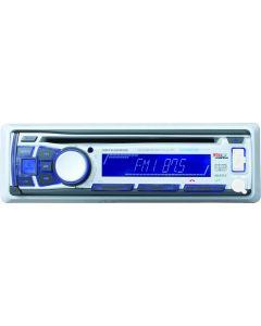 Boss Audio Marine Bluetooth MP3/CD/AM/FM Receiver,  White