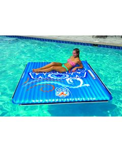 WOW Watersports Wow 14-2080 Water Walkway Floating Inflatable Mat 6' x 6' 1-3 person