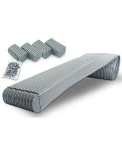 "Caliber Bunk Wrap Kit, Grey, 16' x 2"" x 6"" w/End Caps"