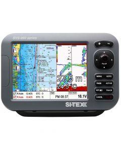 Si-Tex SVS-880CF 8 Chartplotter/Sounder Combo w/Internal GPS Antenna & Navionics+ Flexible Coverage Chart Card