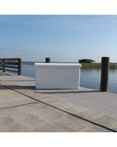 Rough Water Products Large Fiberglass Dock Box