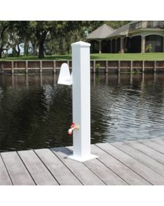 """C&M Marine Products 36"""" Water/Electric Pedestal"""
