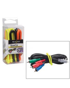 Nite Ize Gear Tie ProPack - 6 Assorted Colors 12 Pack