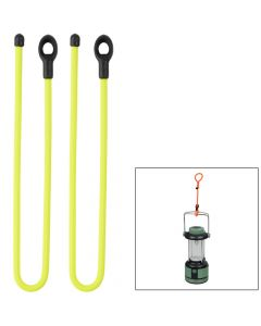 Nite Ize Gear Tie 12 Loopable Twist Tie - Neon Yellow 2 Pack
