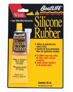 Boatlife Marine Silicone Rubber Sealant 2.8 Fl Oz, Black