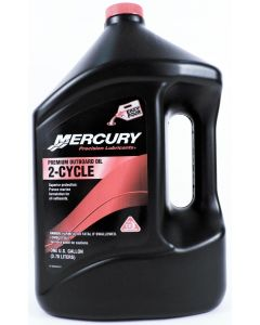 Genuine Mercury Premium 2-Cycle Oil,  Gallon - 858022K01