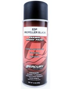 Genuine Mercury Edp Propeller Black Paint - 802878 50
