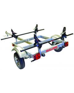 Malone XtraLight Single Kayak Package with SaddleUp Pro