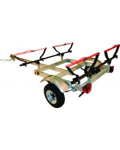 Malone XtraLight 2 Kayak Package with V style Kayak Carriers